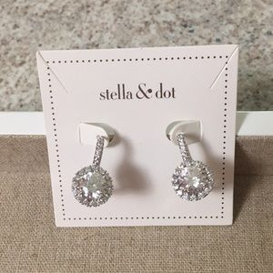 Stella & Dot earrings Elina drop earrings